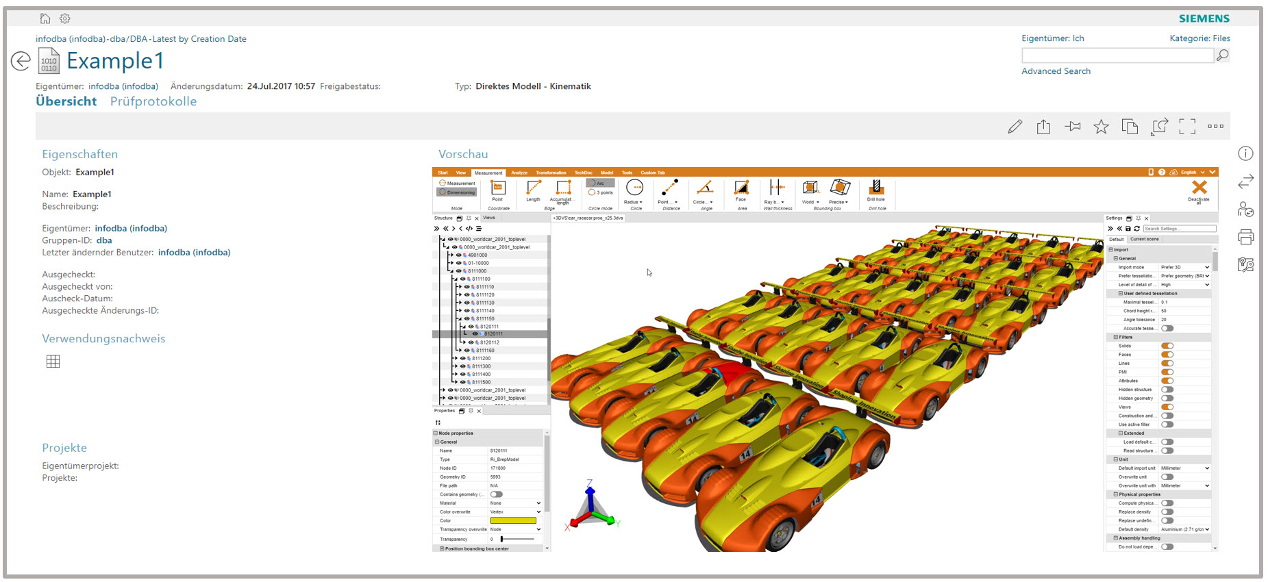 3DViewStation is your NX Viewer, JT Viewer with Siemens PLM