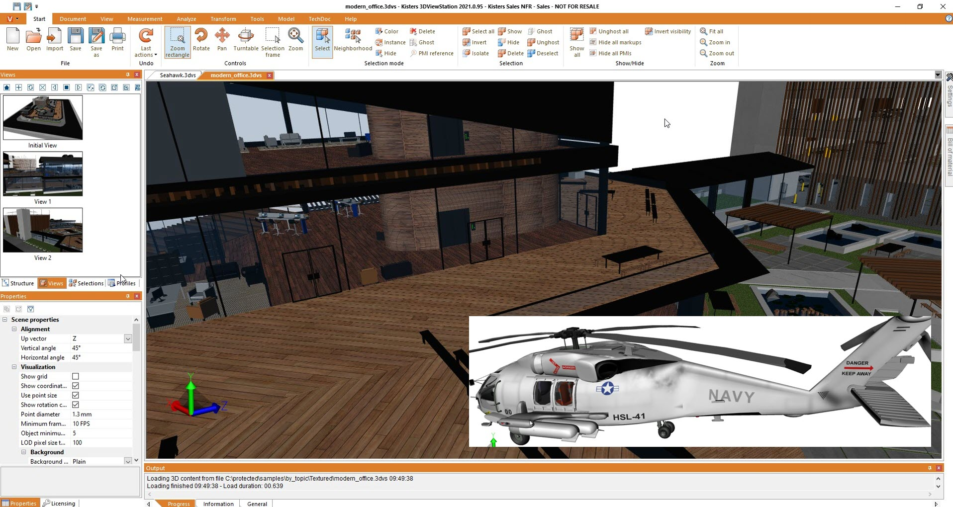 Textures for MCAD and BIM with Kisters 3DViewStation