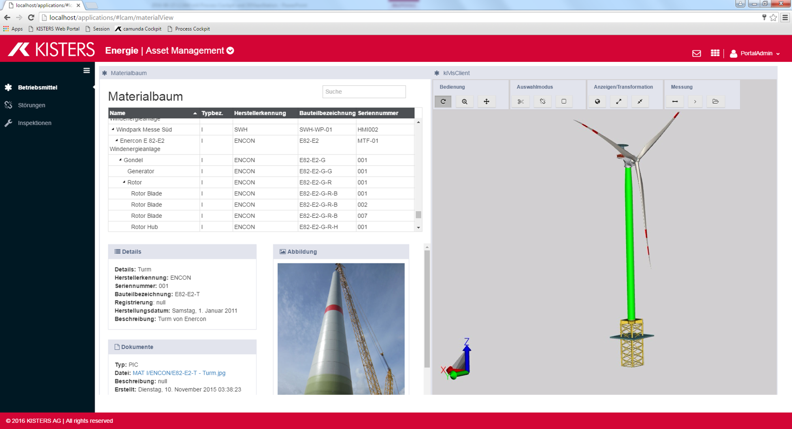WebViewer in LifeCycleAssetMgmt (SLM, MRO) solution
